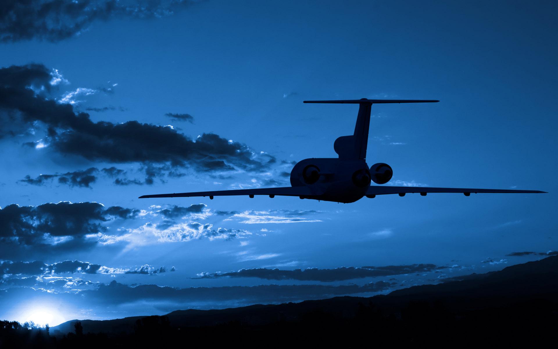 Night Airplane Wallpaper Hd Airport Shuttle Parking Zurich